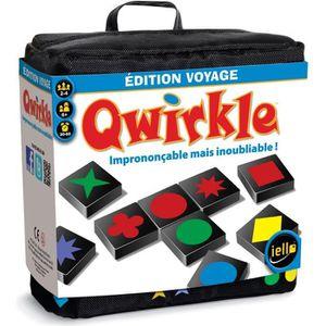 JEU SOCIÉTÉ - PLATEAU Qwirkle - Edition voyage