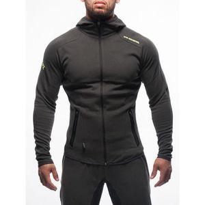 taille 7 pour toute la famille vente chaude authentique Sport Homme Manteau manches longues respirant Design Manteau ...