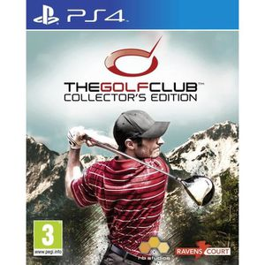 JEU PS4 The Golf Club - édition collector