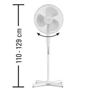 VENTILATEUR TROTEC Ventilateur sur pied TVE 16   hauteur ajust