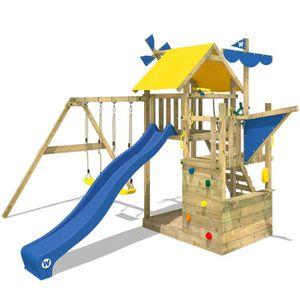 STATION DE JEUX Aire de jeux WICKEY Smart Sail Portique en bois To