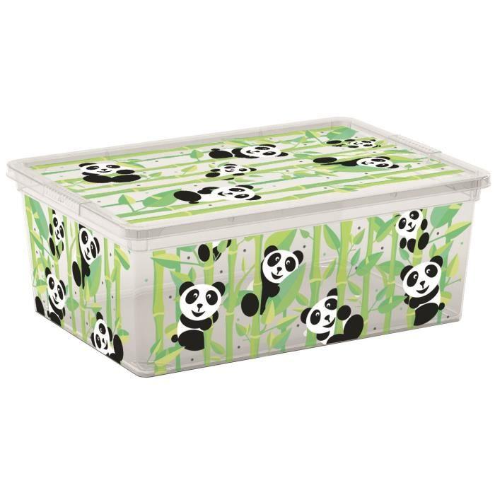 C BOX STYLE Boîte de rangement pour enfant Cute Animals - 11 L - 37 x 26 x 14 cm