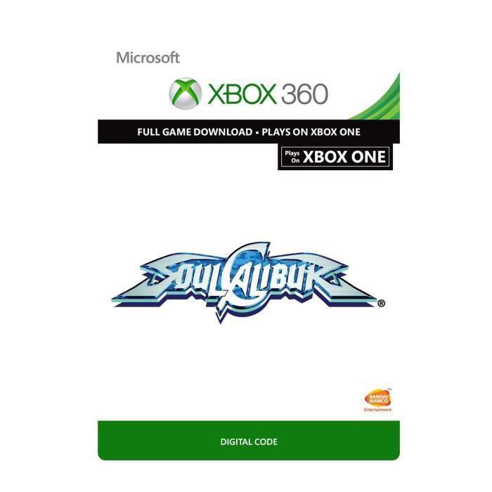 SoulCalibur Jeu Xbox 360 à télécharger