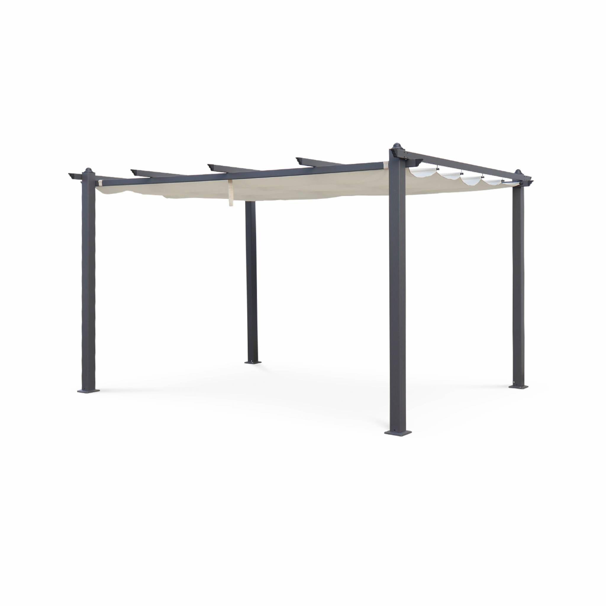 pergola tente de jardin pergola aluminium 3x4m condate c