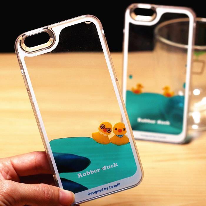 coque iphone xr bleu canard