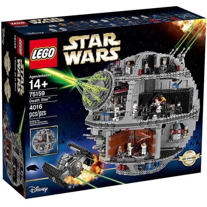 ASSEMBLAGE CONSTRUCTION LEGO STAR WARS™ 75159 Death Star - Étoile Noire de