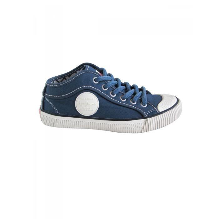 Ado En Baskets Garçon Pepe Toile À Jeans Bleu Lacets CBoQxrdWe