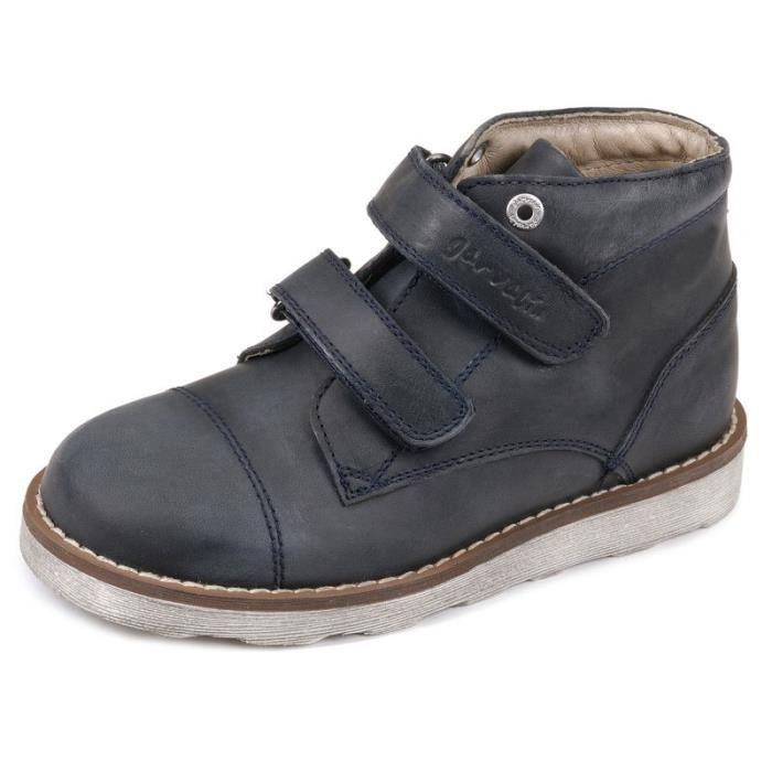 Garvalin Boots garçon bleu 151520A