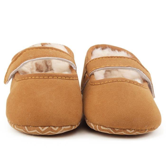 BOTTE Bébé nourrisson enfants fille douce semelle enfant nouveau-né chaussures@KhakiHM