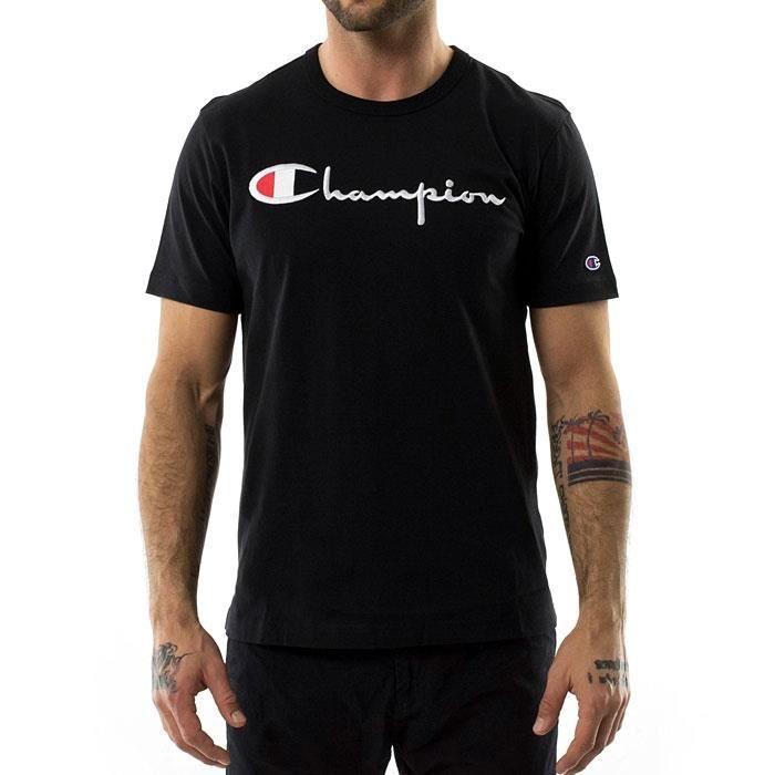 T Shirt Champion Homme : champion t shirt homme noir noir noir achat vente ~ Carolinahurricanesstore.com Idées de Décoration