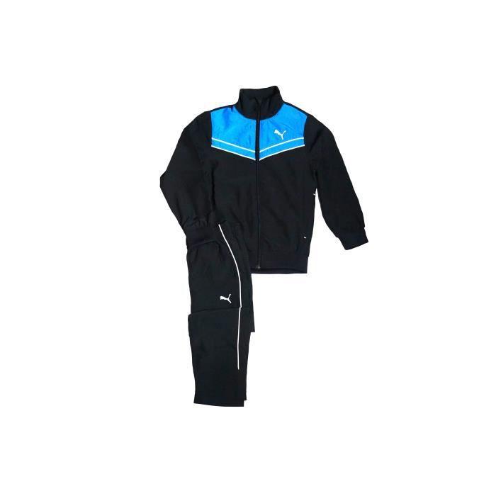93473bd81760f Puma Survêtement Enfant Woven Suit Noir Noir - Achat   Vente ...