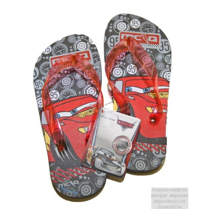 Chaussure Tong Sandale Disney Cars !!