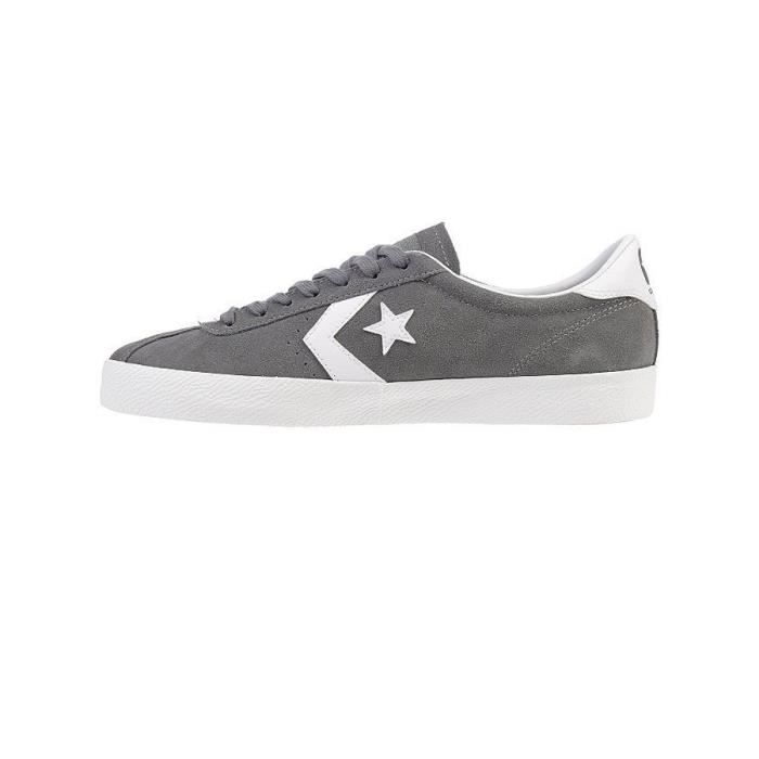 Chaussures Homme Break Point Ox Suede Gris - Converse