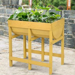 bac fleurs achat vente bac fleurs pas cher cdiscount. Black Bedroom Furniture Sets. Home Design Ideas