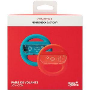 PROXIMA PLUS 2 Volants de couleur pour Nintendo Switch - Bleu et rouge
