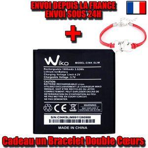 Batterie téléphone 100% Original Batterie Wiko Cink Slim