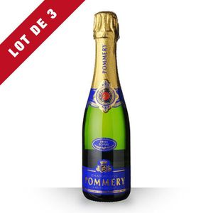 CHAMPAGNE 3x Pommery Brut - 3x37,5cl - Champagne