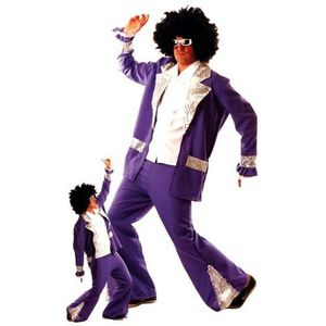 DÉGUISEMENT - PANOPLIE Costume Forever violet homme Costume Forever vi…