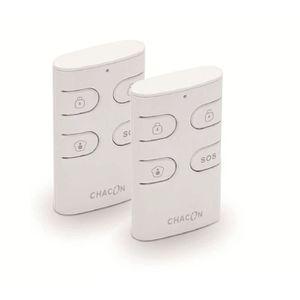 TÉLÉCOMMANDE D'ALARME CHACON Lot de 2 télécommandes d'alarme supplémenta