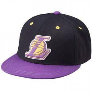 CHAUSSETTES NBA FITTED LAKERS - Casquette Lakers Basketball Ho