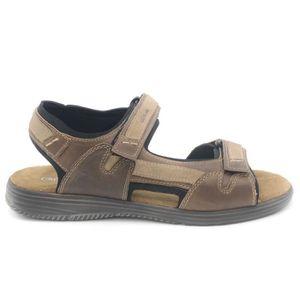 SANDALE - NU-PIEDS Grunland Sandale sportivo homme  cuir e tessuto ka