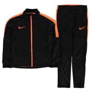 SURVÊTEMENT Jogging Nike Swoosh Garcon Noir et Orange 14b195d61096