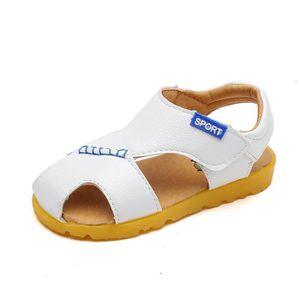 SANDALE - NU-PIEDS Enfant Bébés Sandales Garçon Mode Velcro PU Chauss ... f03703121a16