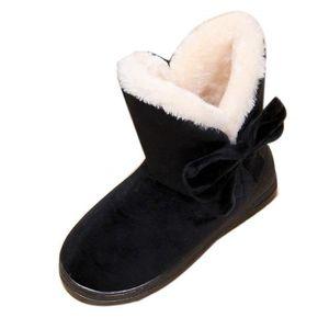 BOTTINE Meilleure Vente!Bottes De Neige Femme Bowtie Boots