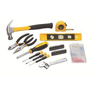 BOITE A OUTILS STANLEY Kit d'outils maison 62 pièces
