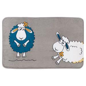 TAPIS DE BAIN  Tatkraft Funny Sheep Tapis de Bain 50 X 80 cm Ultr