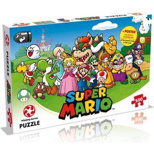 PUZZLE SUPER MARIO Puzzle - 500 pièces