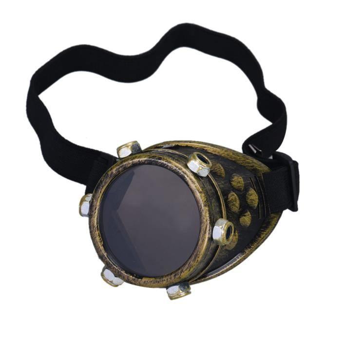 zf537 lunettes vent oeil droit punk Deuxsuns®Steampunk lentille coupe bricolage accessoires zOqxR4w
