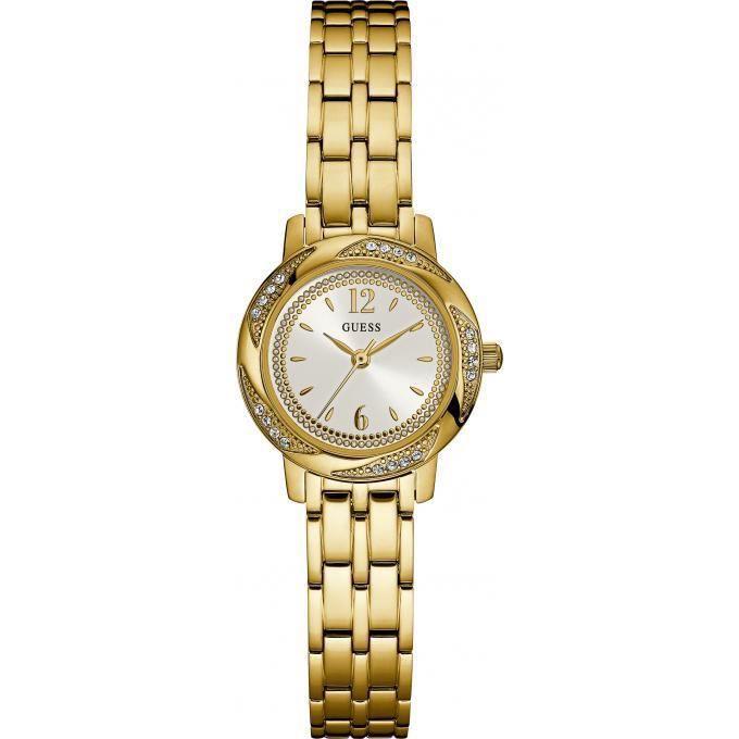 Montre guess rose hill w0935l3 - montre acier dorée femme - Achat ... fe849e3bb0e7