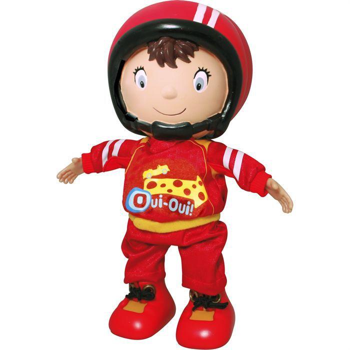 Oui oui pilote de course 30 cm achat vente figurine - Personnage dans oui oui ...