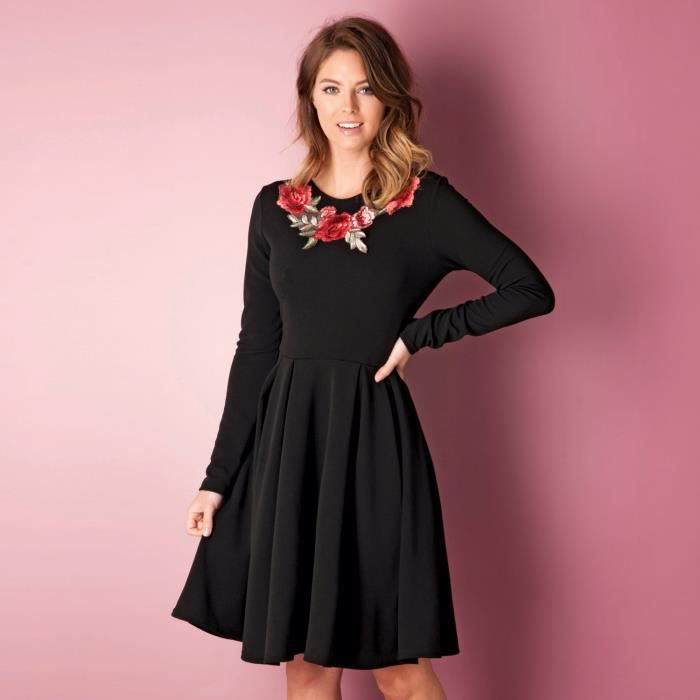 Robe patineuse pour femme