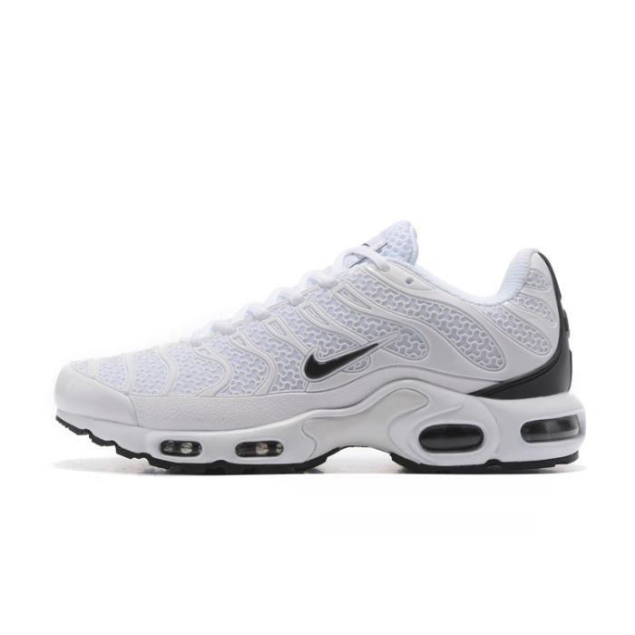 SKATESHOES Nike Air Max Tn Chaussures de course Baskets Blanc