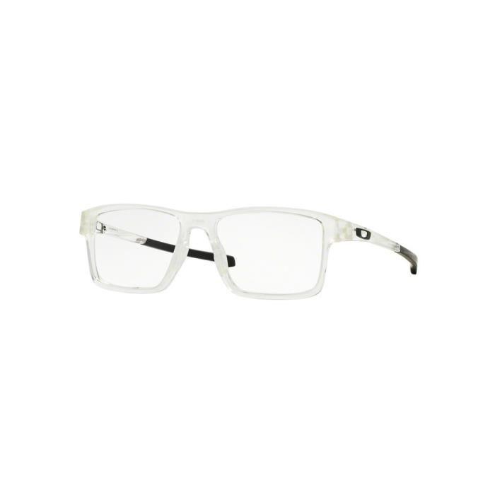 0264a44e8556f Lunettes de vue Oakley Homme CHAMFER 2.0 OX8040 804002 Transparente 52 x  37