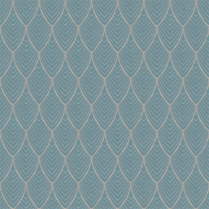 Wow Artdeco Bleu Or Papier Peint Intisse 10m X 52cm Achat