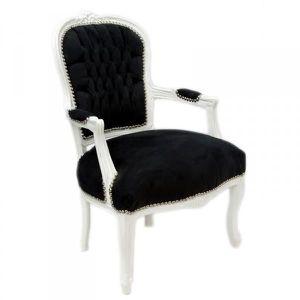 Fauteuil baroque achat vente pas cher - Chaise noir et blanc pas cher ...