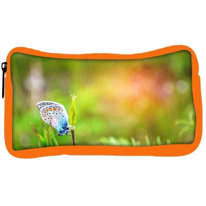 Eco En Vert Étudiant R7eav Pen Cas Couleur Hommes Designer Friendly Papillon Mixte Coi Pétale Toile Crayon wnwBTx0