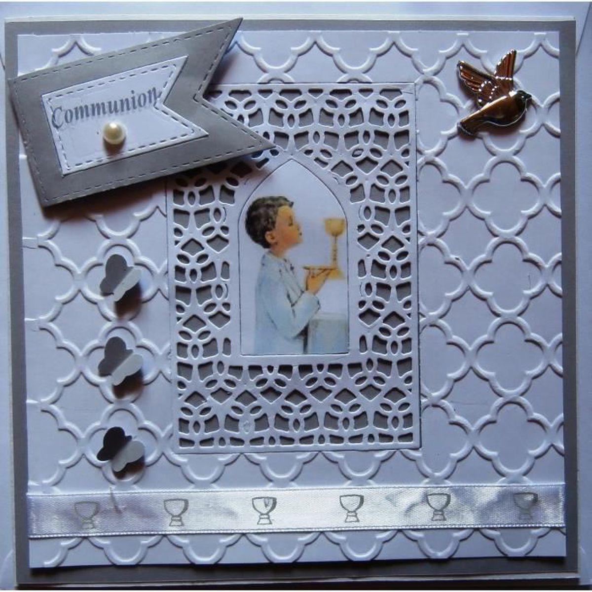 carte invitation communion achat vente carte invitation communion pas cher soldes d s le. Black Bedroom Furniture Sets. Home Design Ideas