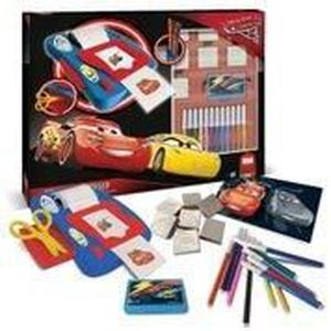 CARS 3 Coffret Machine Stickers + 7 Tampons