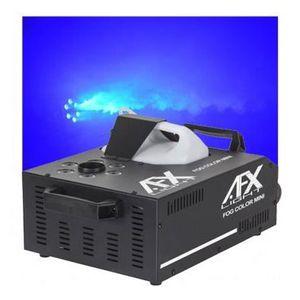 MACHINE À FUMÉE AFX FOG-COLOR-MINI Machine à fumée à LED Geyser -