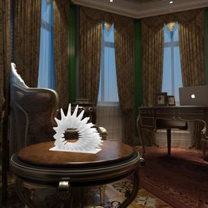 STATUE - STATUETTE Tomfeel 3D Sculpture Imprimé Coral Cadeau annivers