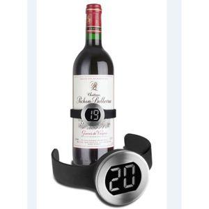 THERMOMÈTRE VIN Thermomètre digital pour bouteille de vin