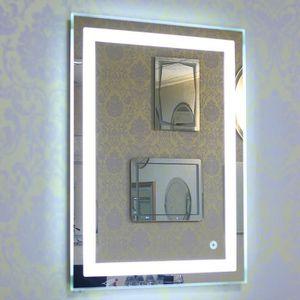 Miroir lumineux salle de bains - Achat / Vente pas cher