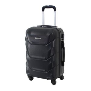 VALISE - BAGAGE Valise Cabine 55cm - ALISTAIR Iron - ABS Ultra Lég