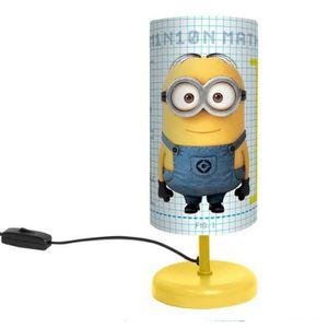 LAMPE A POSER Lampe de chevet Minion Math 29 cm - Moi, Moche et