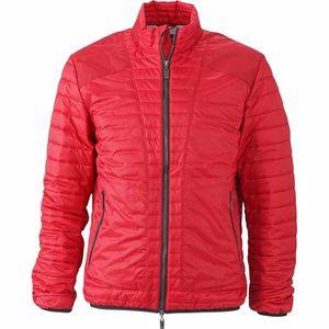 fb5e3865955f DOUDOUNE Doudoune veste légére homme JN1112 - rouge
