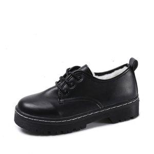 Derby Femmes Printemps Été Comfortable Mode Chaussures JXG-XZ059Noir40 uzAHOFCnaZ